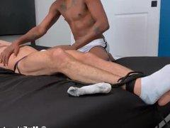 'Tied sex jockstrap geek hot xnxx interracial blowjob during tickling'